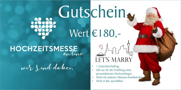 Let´s Marry Gutschein Logoerstellung
