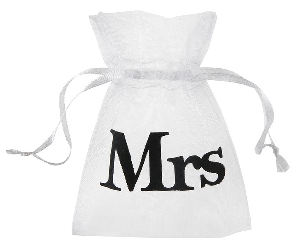 Organza Sack Mrs.