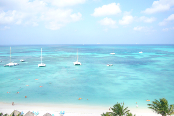 Honeymoon auf Aruba